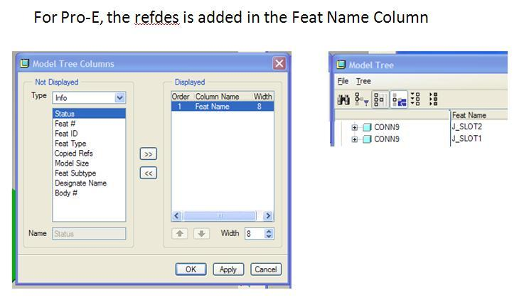 proe part file libraries