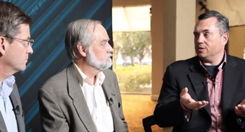 Brian Fuller Richard Goering and Frank Schirrmeister on Cadence TV at DVCon 2014
