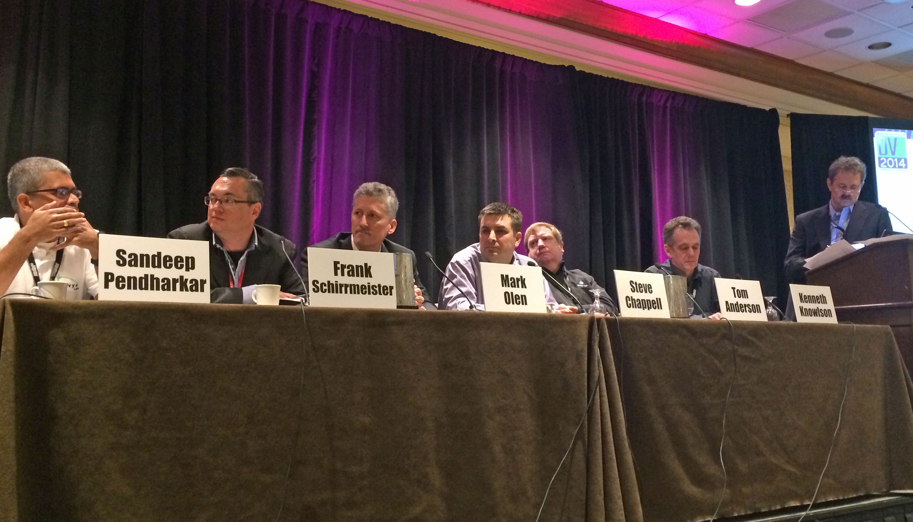 DVCon 2014 software and verification panel