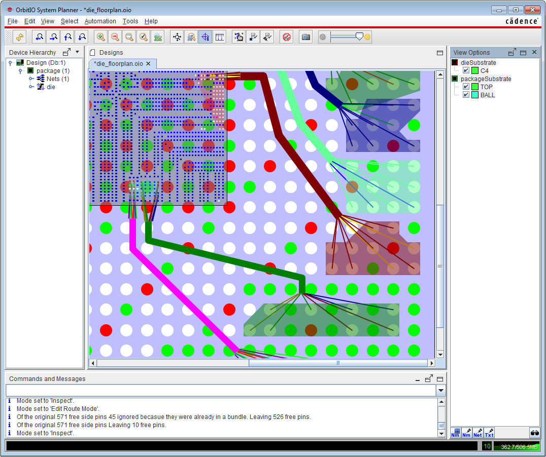 Multi-fabric planning for efficient PCB design