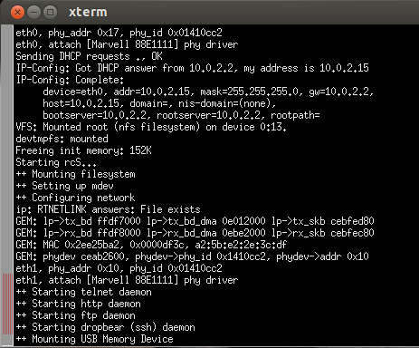 Using a Network File System with the Xilinx Zynq-7000