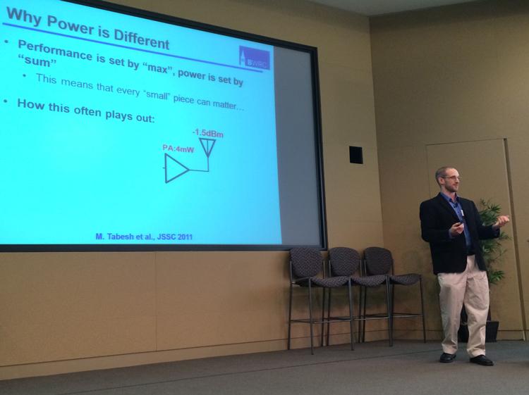 Elad Alon at Cadence Low Power Summit 2014