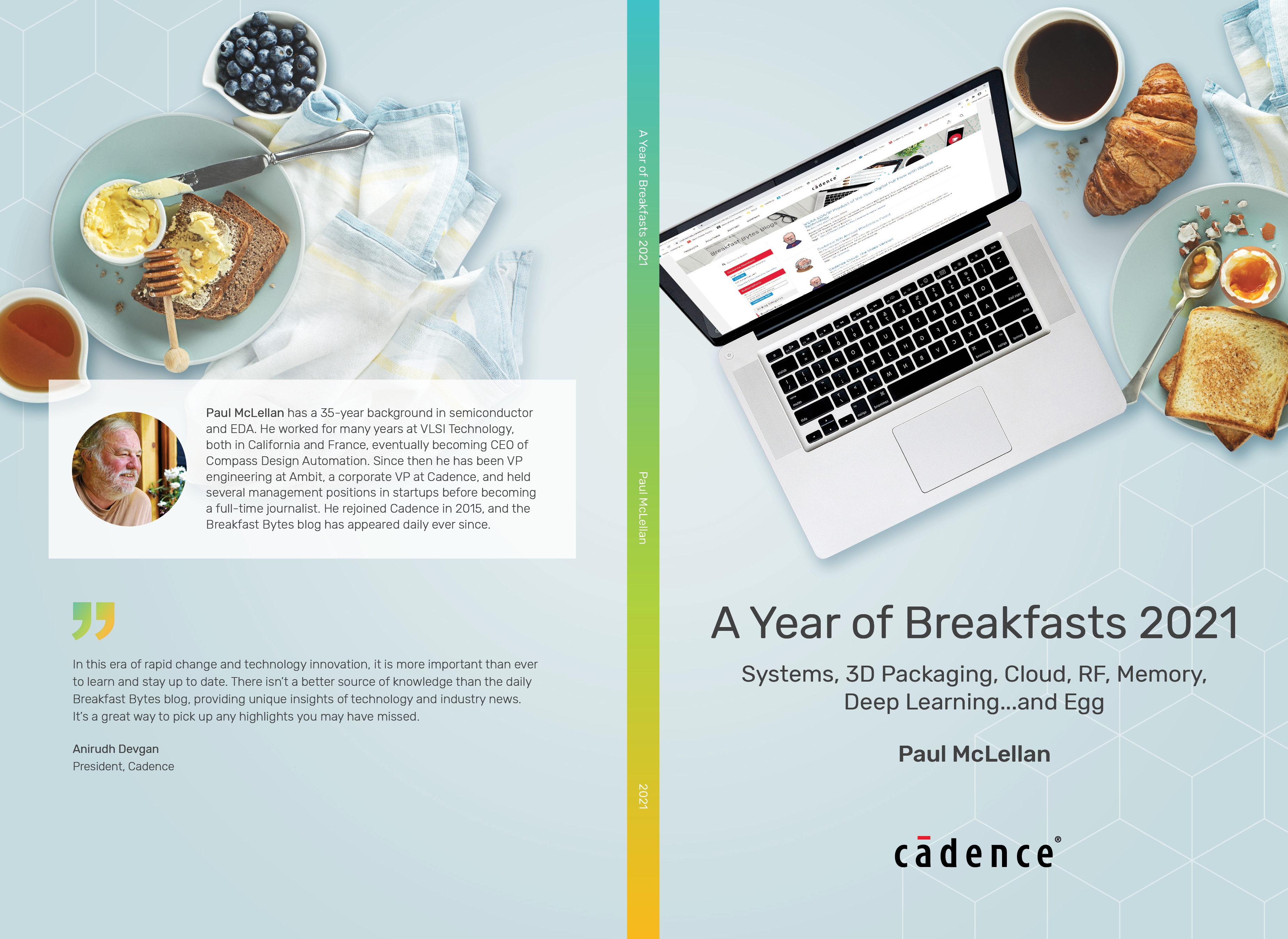 cover of a year of breakfasts 2021