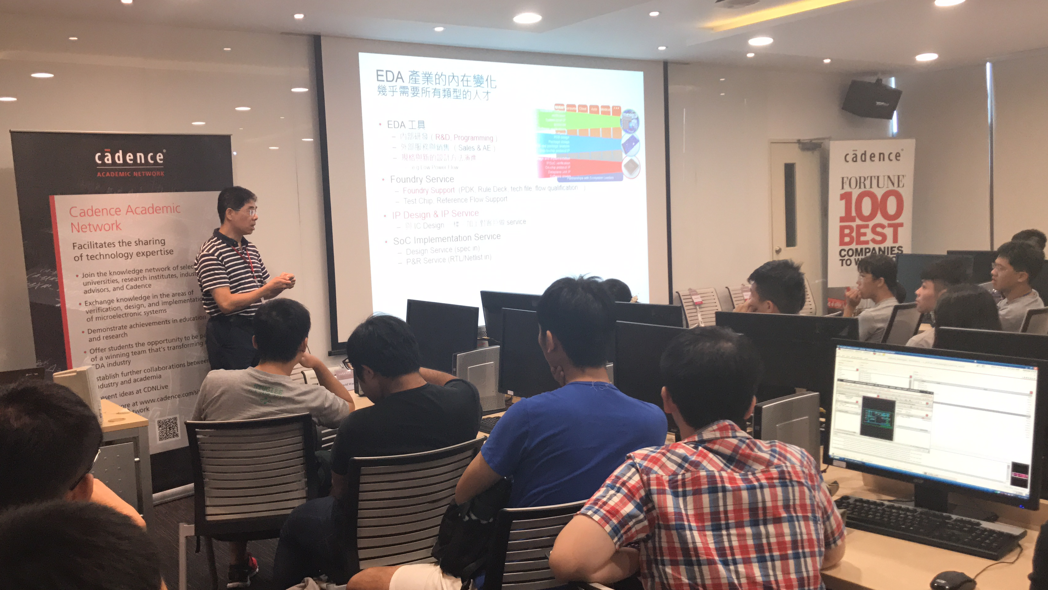 EDA Summer Camp—Cadence Taiwan Hosts Top University Students