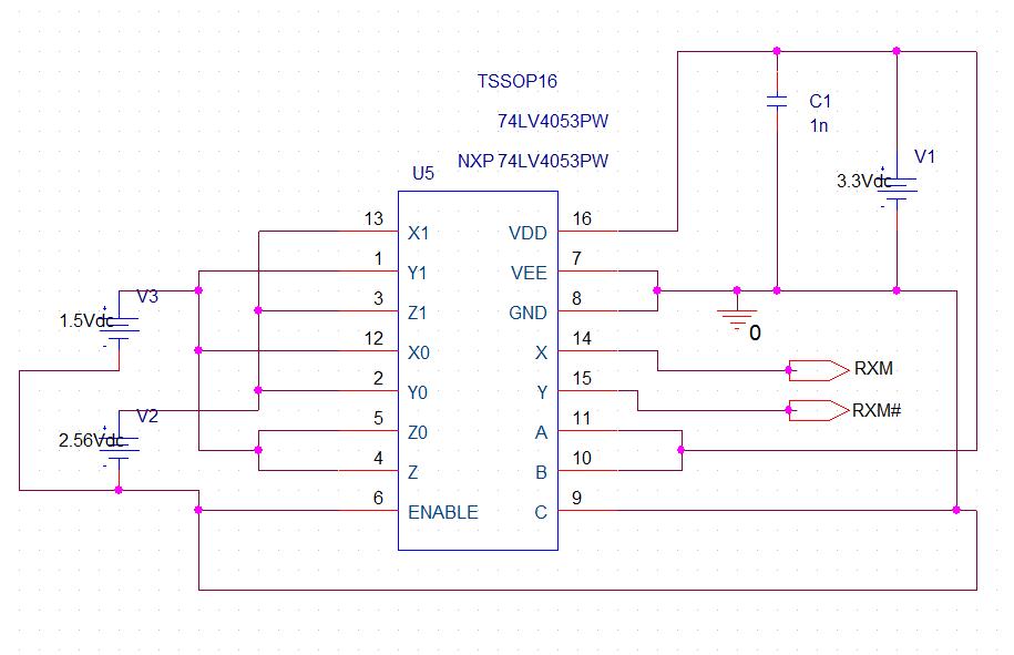 ERROR(ORNET-1113): Bad PSpice net name on part U5 - PCB