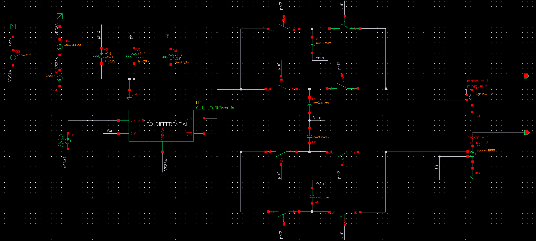 Uniform Pulse Width Modulation Closed Loop Frequency Response Pss Diy Circuit Design Pwm 1 I Used Vsource Analoglib To Be Applied The Input