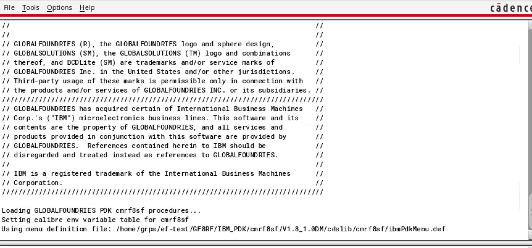 PDK menu not showing in CIW - Custom IC Design - Cadence