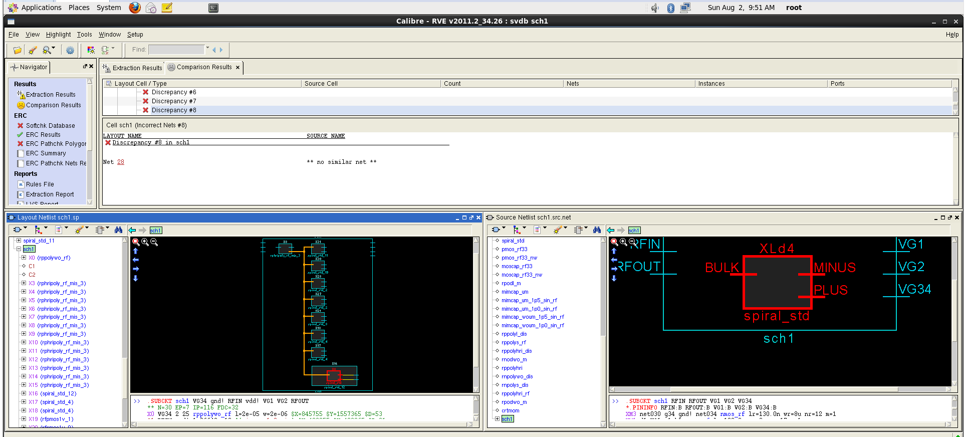 Why Bulk Of Spiral Insductors Are Connected To Each Other Custom Circuit Design Suite Screenshot 18 I Also Have Similar Errors With The Inductors Calibre Is Not Able Find Net Attached Another Image Shows