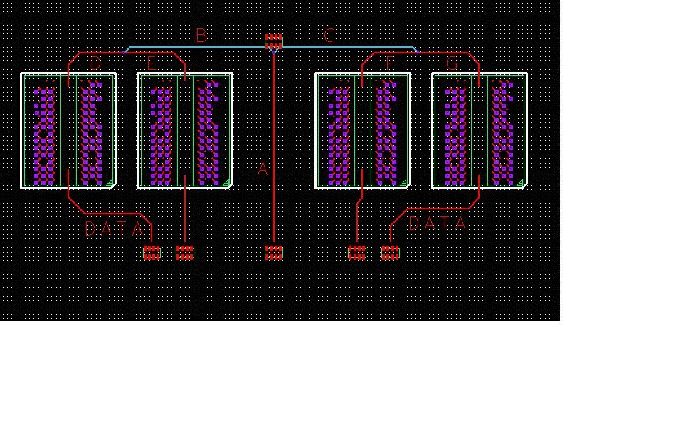 High speed DDR multi-tiered T routing - PCB Design - Cadence