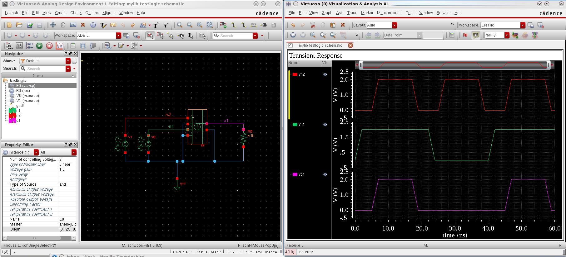 vcvs Nor Schematic on