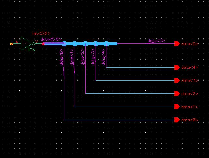 virtuoso wire bus connectivity issue custom ic design cadence rh community cadence com Cadence Allegro Cadence Schematic Capture