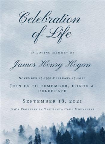 jim hogan's celebration of life