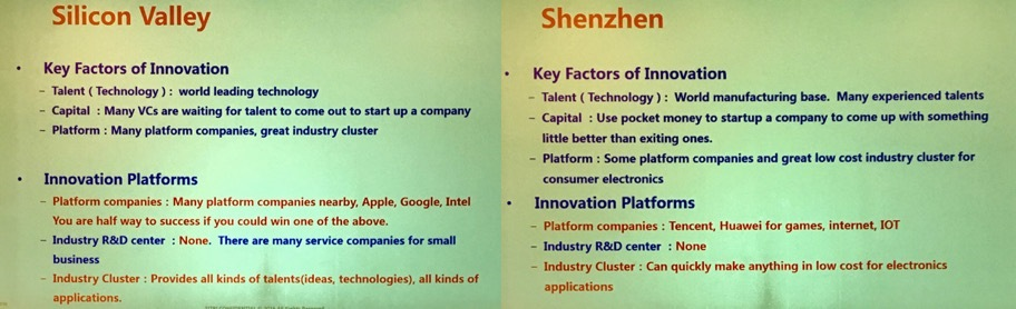 silicon valley and shenzhen