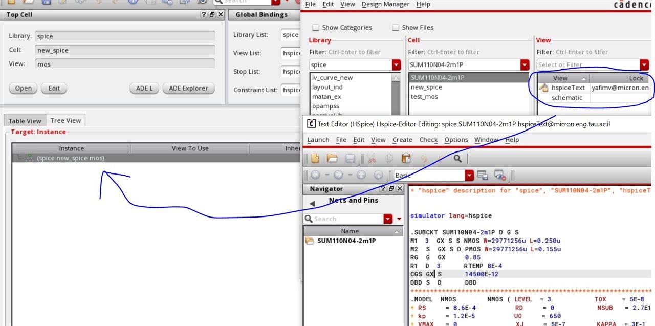 problem creating symbol of netlist subcircuit - RF Design - Cadence