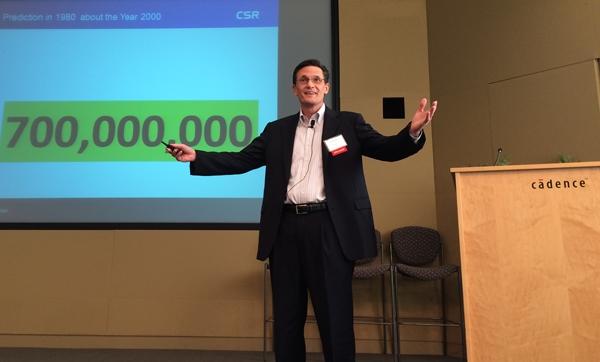 CSR VP David Simon at Cadence Low-Power Technology Summit