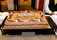 Virtuoso 25th birthday cake