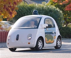 Photo of prototype autonomous car