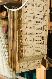 jacquard loom punched cards