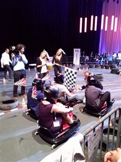 The go-cart racing competition