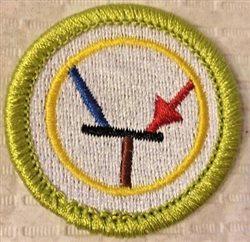 transistor badge