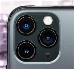 lenses on smartphone