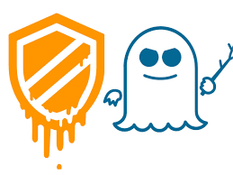 spectre and meltdown logos
