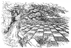 Illustration from Through the Looking-Glass