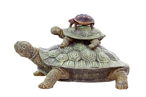Stacked Turtles