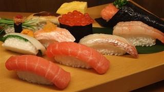 fake sushi