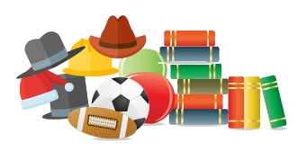 Books, Balls, and Hats