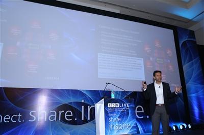 Vinod at CDNLive India