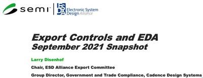 export controls and eda