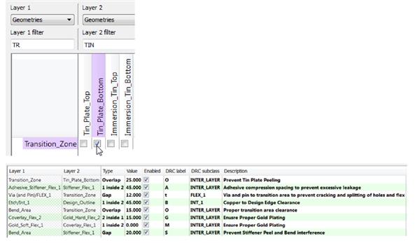 Allegro PCB Editor UI