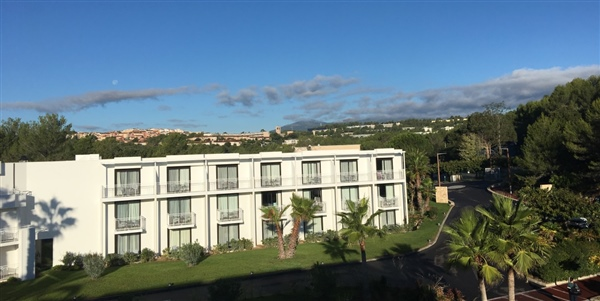 sophia antipolis: view