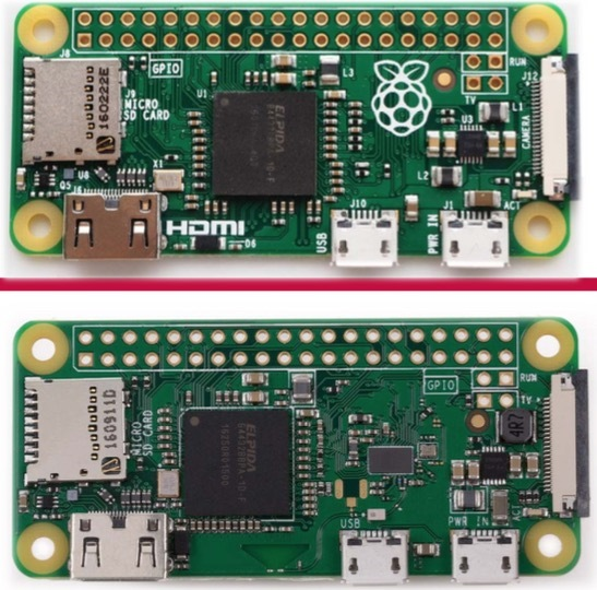 raspberry pi zero and zero w