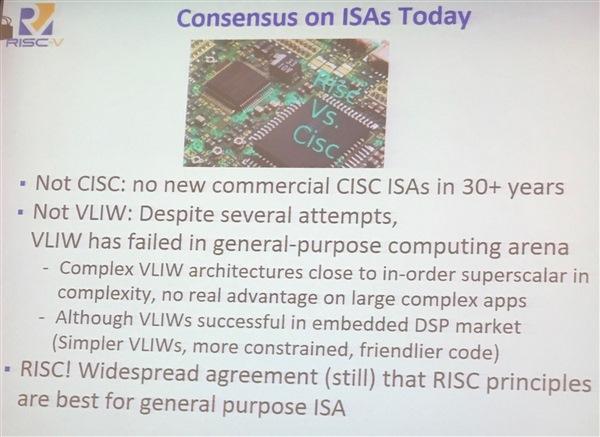consenus on ISAs