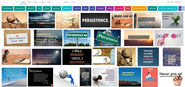 Persistence search results