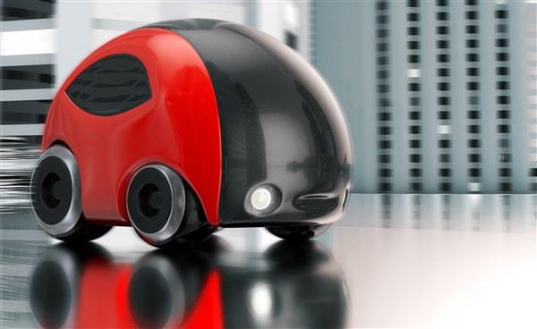 Futuristic car-pod