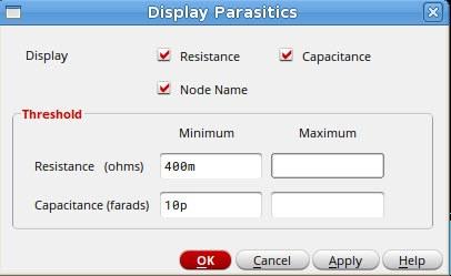 Display Parasitics