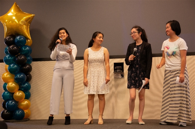 Girls Who Code Showing Poise