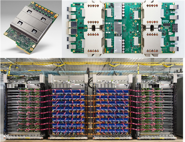 google tpus 1, 2, and 3