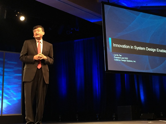 Lip-Bu Tan keynotes CDNLive Silicon Valley 2015