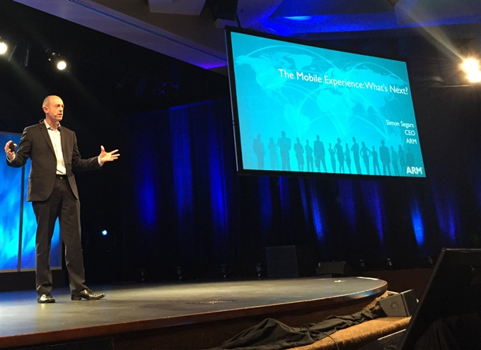 ARM Simon Segars keynotes CDNLive Silicon Valley 2015