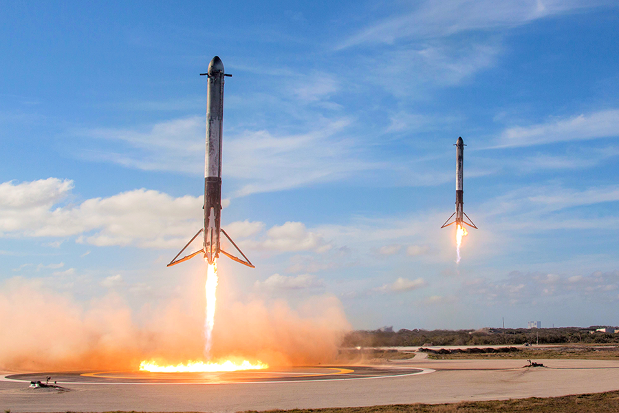 By SpaceX - Falcon Heavy Demo Mission