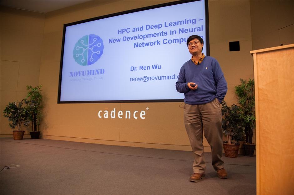 Dr. Ren Wu, CEO of Novumind
