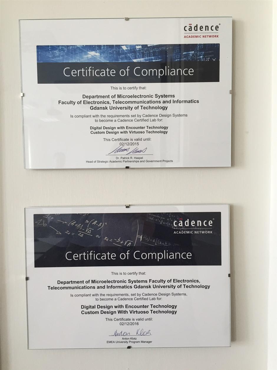 certified lab in Gdansk