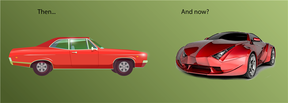 Cars Then and Now