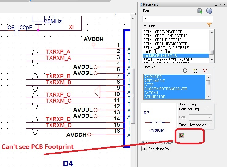 How Can see PCB footprint in OrCAD Schematic? - PCB Design ... Orcad Schematics on